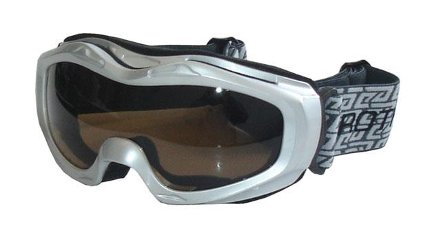 brýle lyžařské BROTHER B112 stříbrné