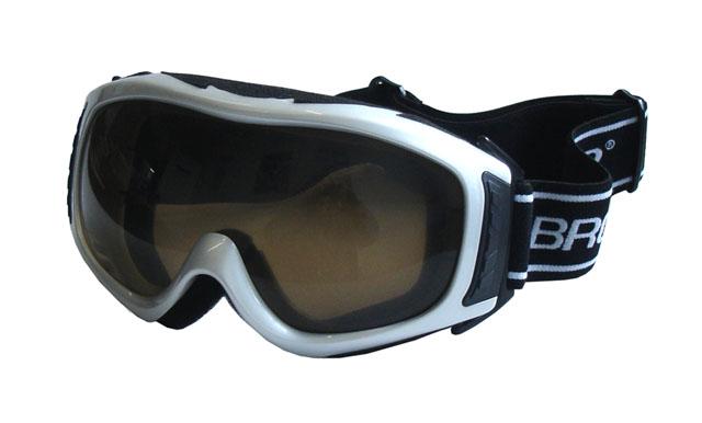 brýle lyžařské BROTHER B255 stříbrné
