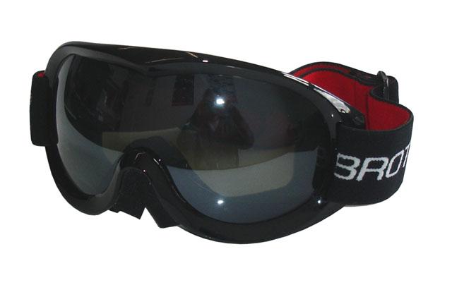 brýle lyžařské BROTHER B259 dvojsklo černé