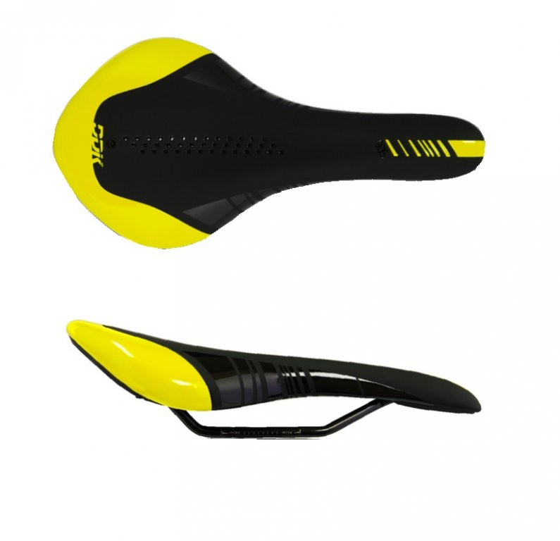 Sedlo DDK D9019 čierno žlté