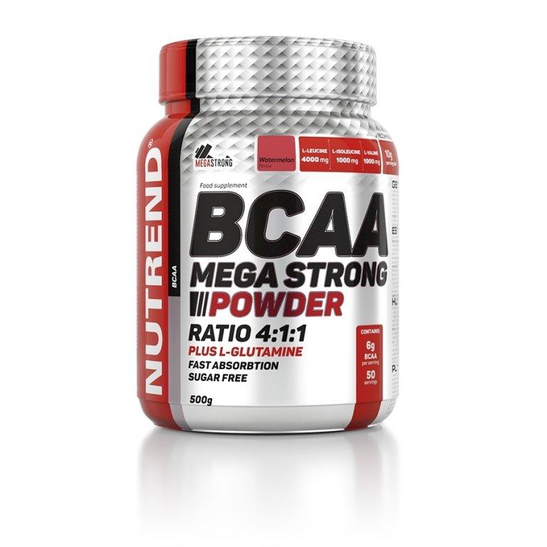 nápoj Nutrend BCAA Mega Strong Powder 500g meloun
