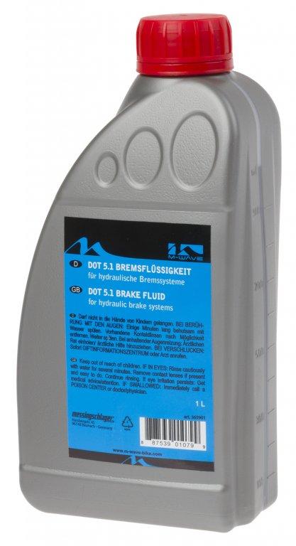 kapalina brzdová M-Wave Brake Liquid 1l DOT5.1