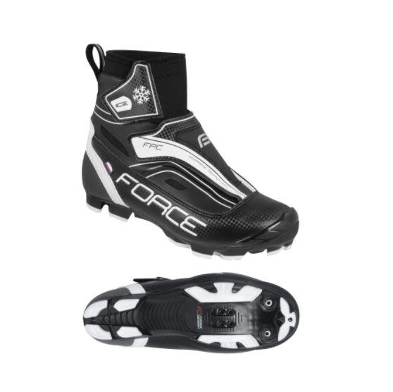 boty Force ICE MTB zimní černé