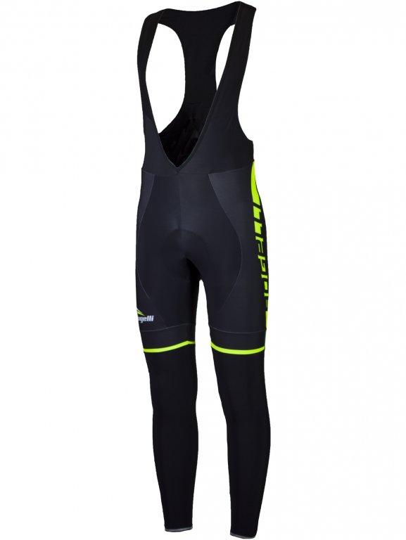 kalhoty dlouhé pánské Rogelli UMBRIA 2.0 černo/fluoritové