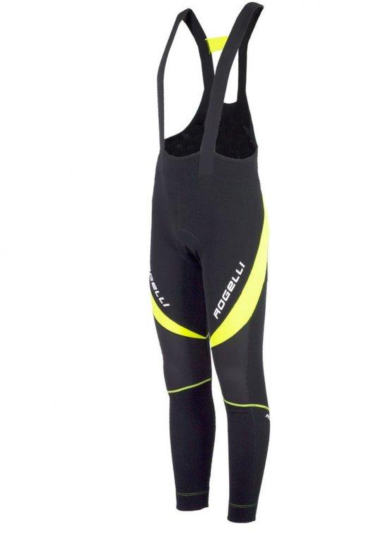 kalhoty dlouhé pánské Rogelli TRAVO 2.0 černo/fluoritové