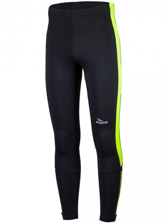 kalhoty dlouhé pánské Rogelli VISION 2.0 černo/fluoritové