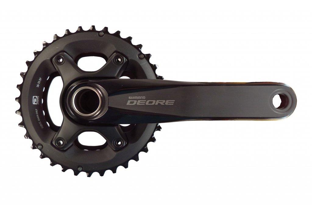 kliky Shimano Deore FC-M6000 2x10 38/28z 175mm černé original balení