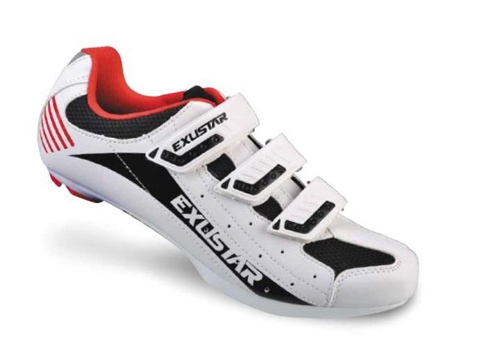 boty EXUSTAR SR404 bílo/černé