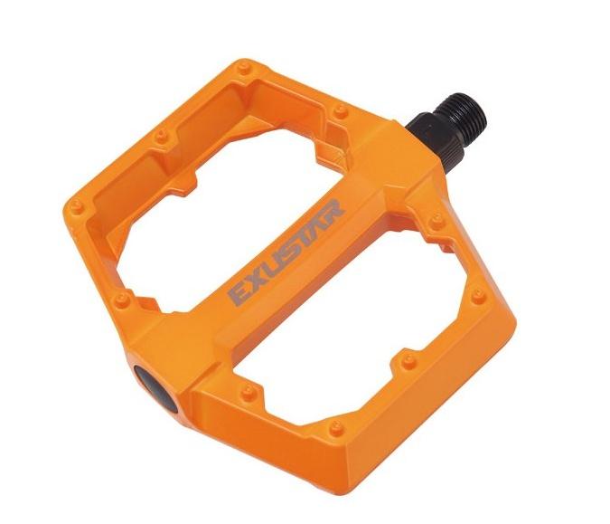pedály BMX EXUSTAR PB70 oranžové