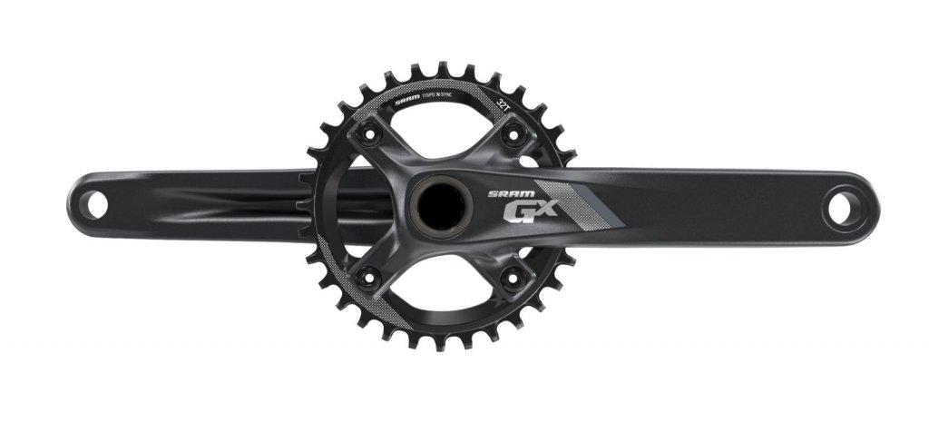 kliky SRAM GX 1000 GXP 32T 11-rychlostní černá