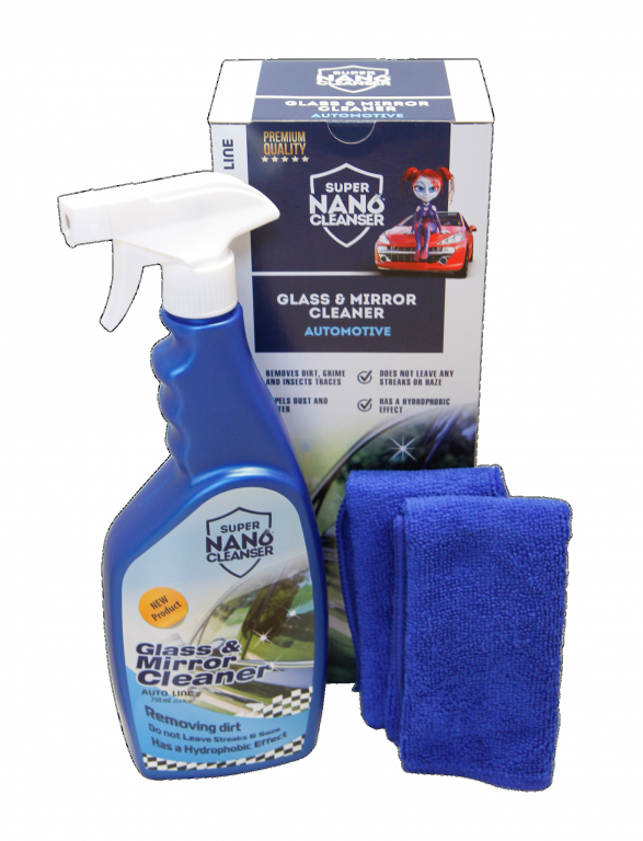 čistič autoskel NANOPROTECH Glass & Mirrors Cleaner Automotive