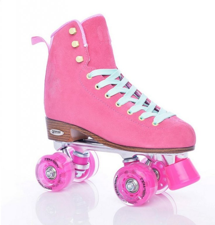 brusle kolečkové dámské Tempish NESSIE STAR quad růžové
