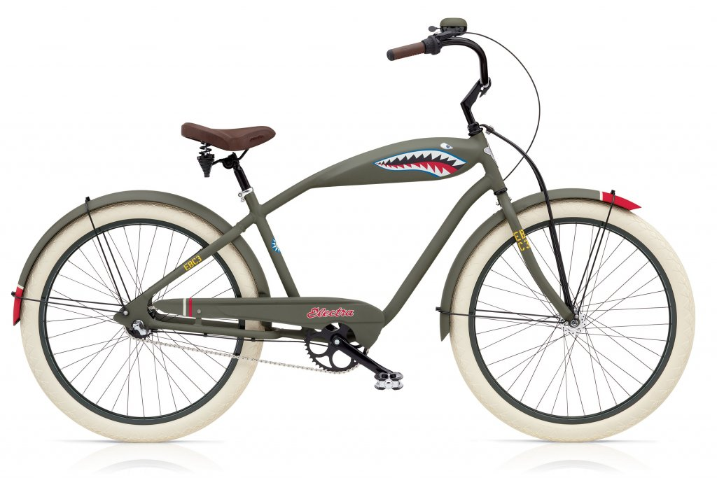 kolo pánské ELECTRA Cruiser Attitude-Tiger Shark 3i šedé