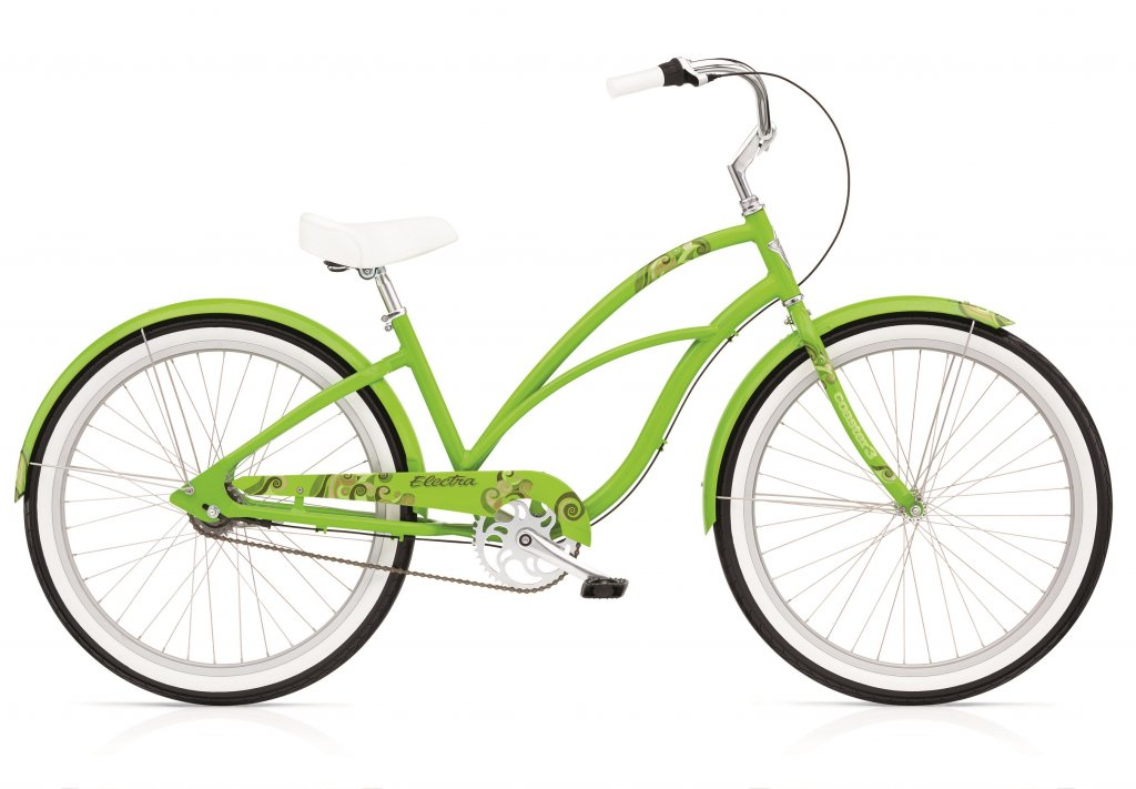 kolo dámské ELECTRA Coaster 1 zelené
