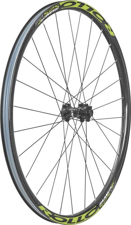 kolo zapletené Remerx Rollo 584-23 přední  28 děr černé