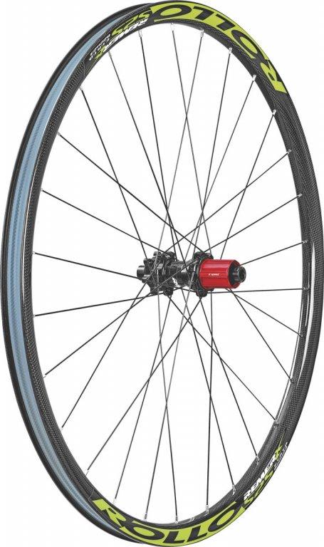 kolo zapletené Remerx Rollo 584-23 zadní  28 děr černé