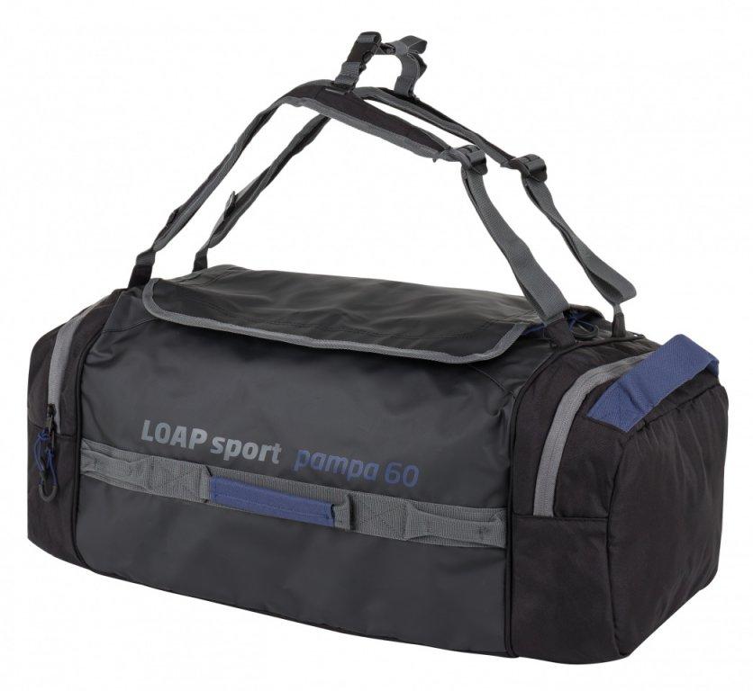 taška sportovní LOAP PAMPA černo/modrá