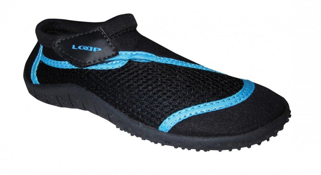 boty dětské LOAP HANK do vody černo/modré