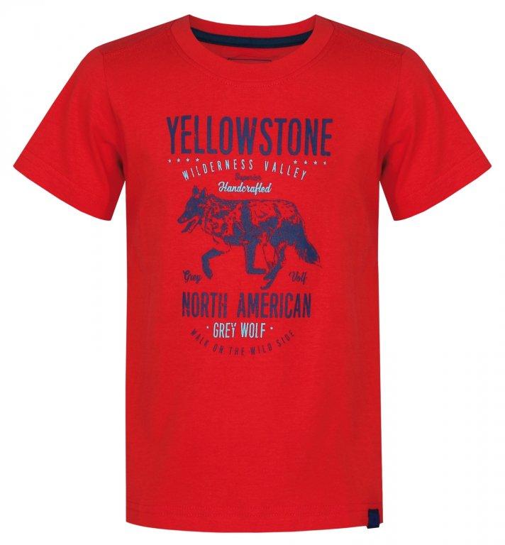triko krátké dětské LOAP IBBY červené
