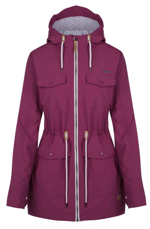 kabát dámský LOAP FADETA fialový