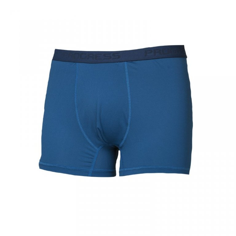 boxerky Progress ST SKN modré