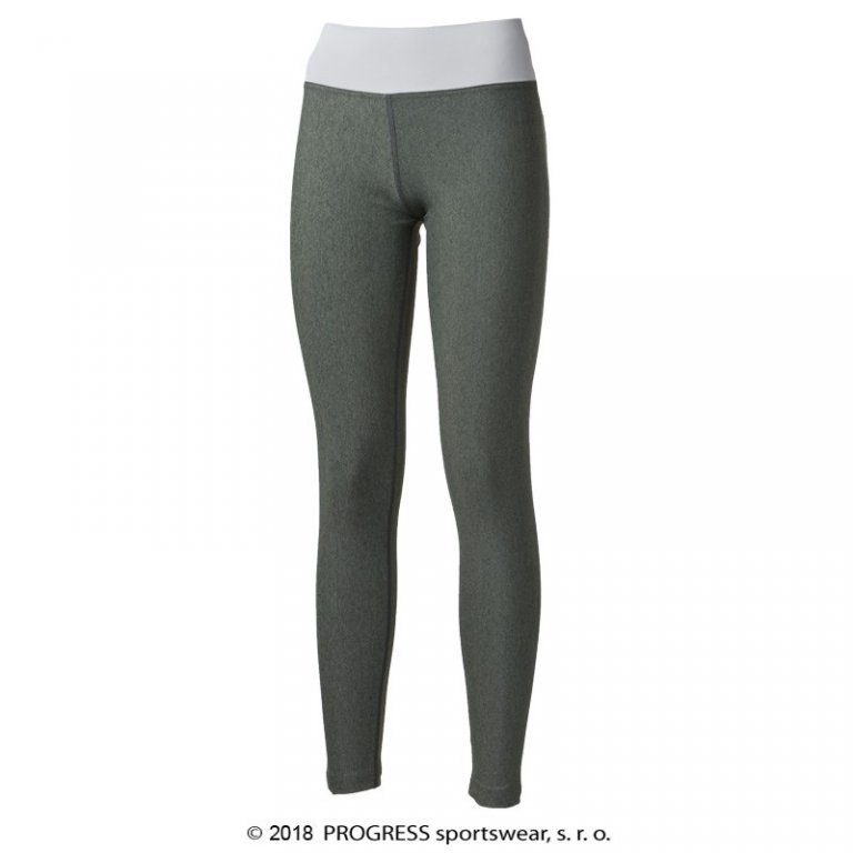 kalhoty dlouhé dámské Progress BETTY khaki/šedé