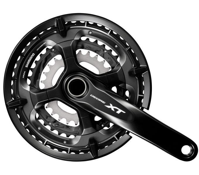 Kliky Shimano Deore XT FC-T8000 3x9 48/36/26z 175mm černé