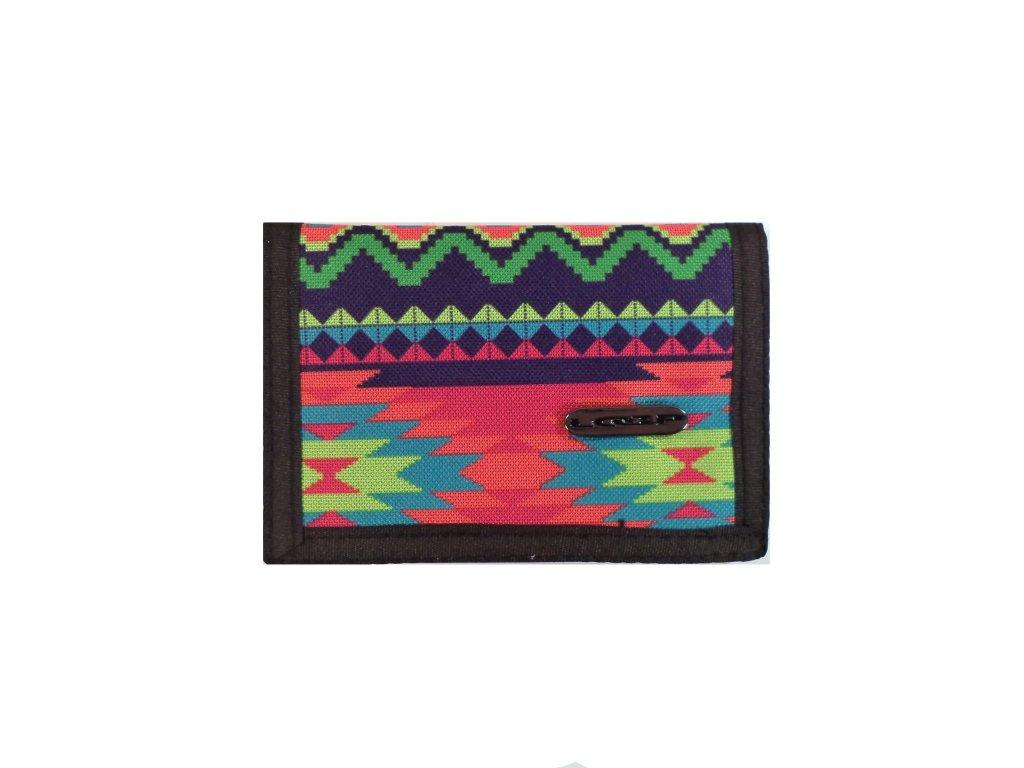 peněženka LOAP CLUB WALLETS indiánský vzor