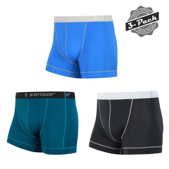 boxerky SENSOR COOLMAX FRESH 3pack NEW