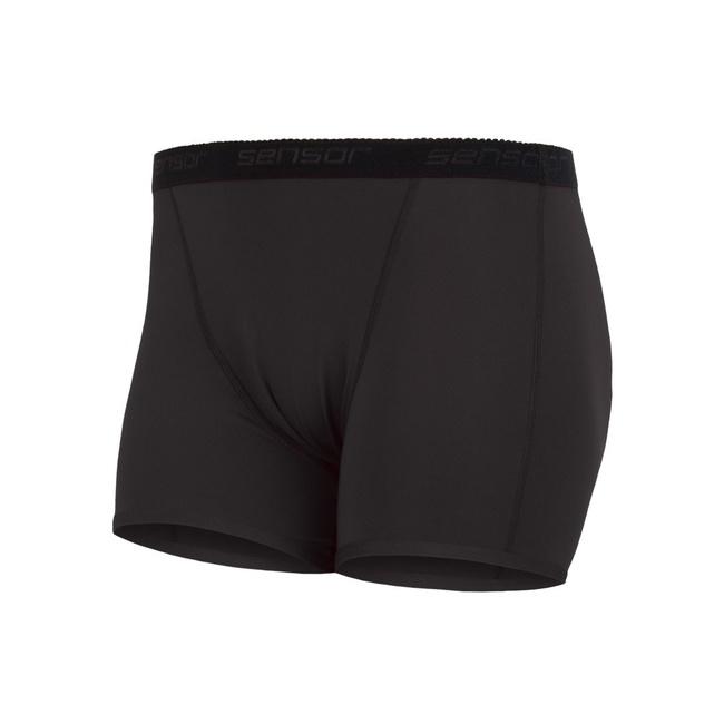 kalhotky dámské SENSOR COOLMAX FRESH s nohavičkou černé