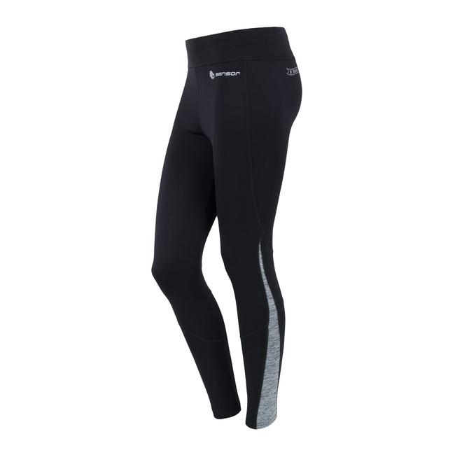 kalhoty dlouhé dámské SENSOR MOTION černo/šedé