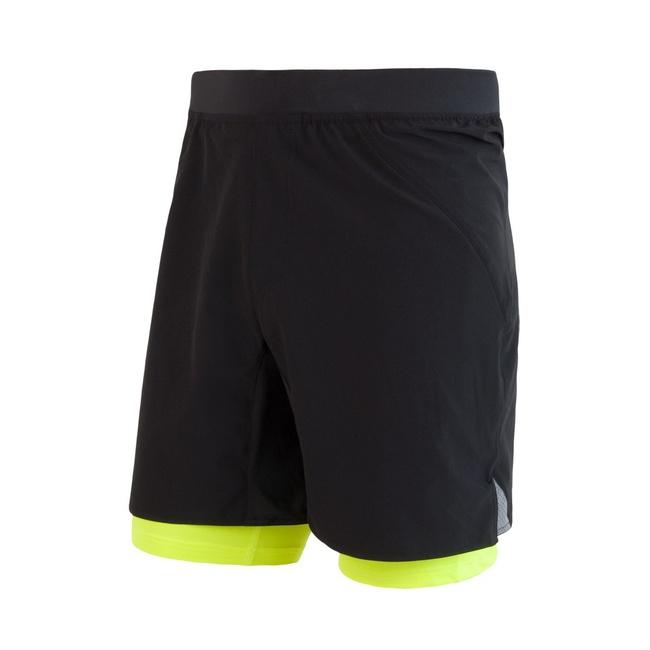 kalhoty krátké pánské SENSOR TRAIL černo/fluoritové