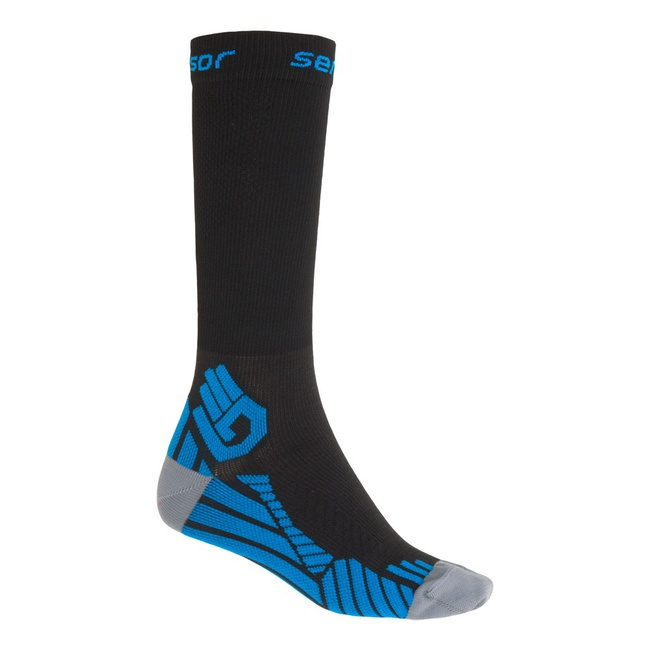 ponožky SENSOR RACE COMPRESS černé