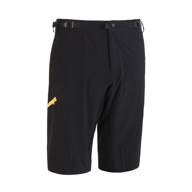 kalhoty krátké pánské SENSOR HELIUM černo/žluté