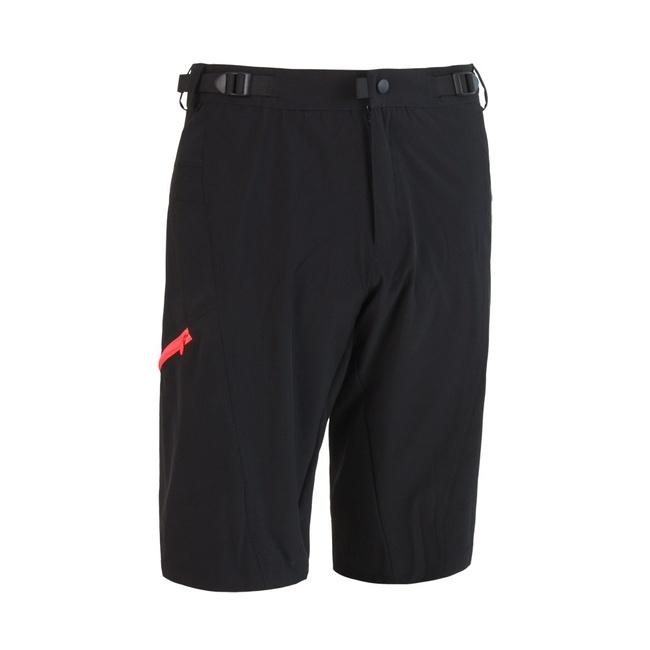 kalhoty krátké pánské SENSOR HELIUM černo/červené