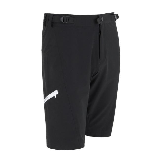 kalhoty krátké dámské SENSOR HELIUM černo/bílé