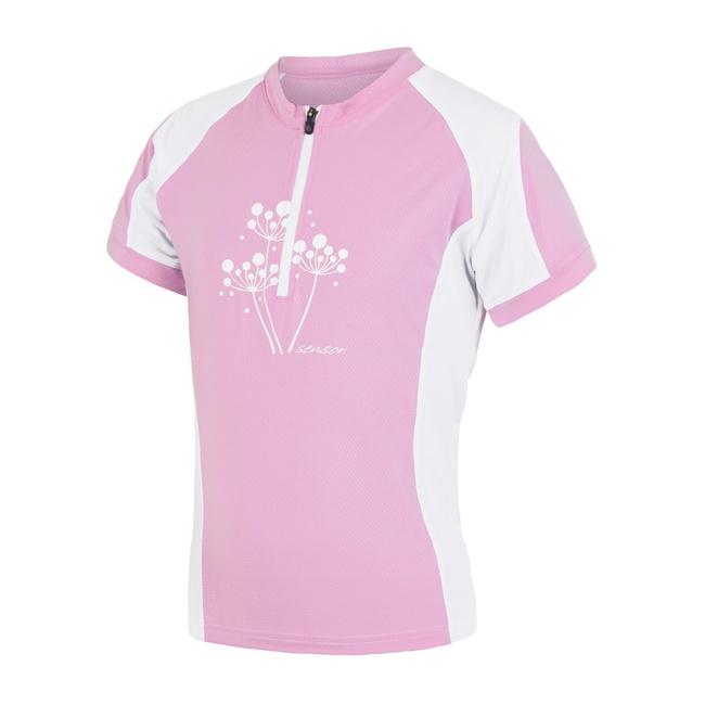 dres krátký dětské SENSOR ENTRY růžovo/bílý