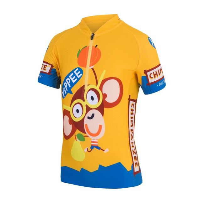 dres krátký dětské SENSOR CHIMPANZEE žlutý