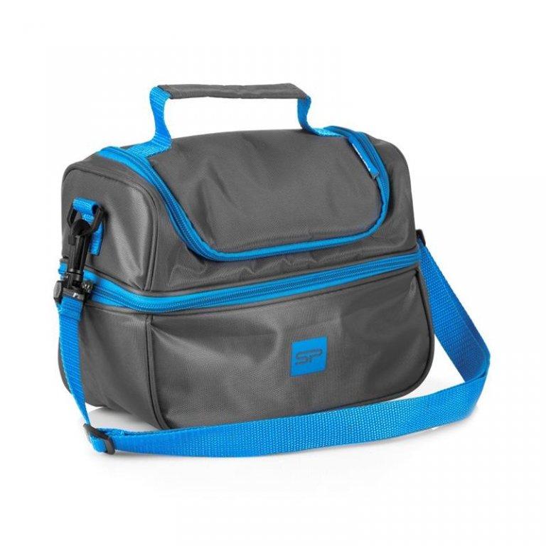 taška termo Spokey LUNCH BOX s plastovým boxem vč. příborů
