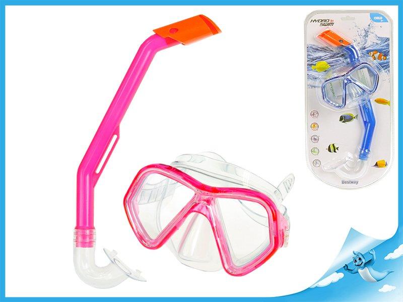 brýle+šnorchl 3-6let polykarbonátová skla