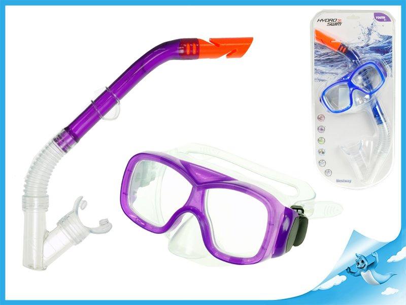 brýle+šnorchl 7-14let polykarbonátová skla