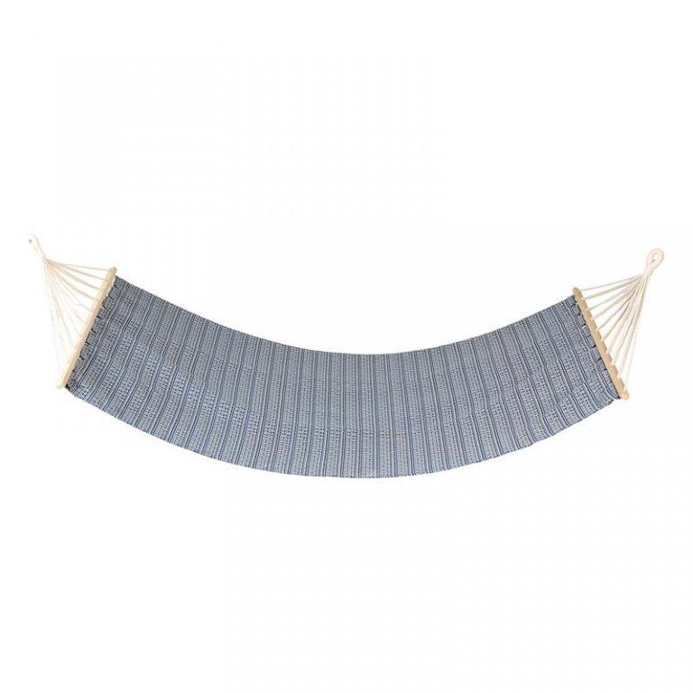 houpací síť Spokey ZUNI do 120 kg modro/bílá