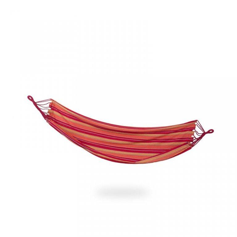 houpací síť Spokey IPANEMA do 120 kg červeno/žlutá