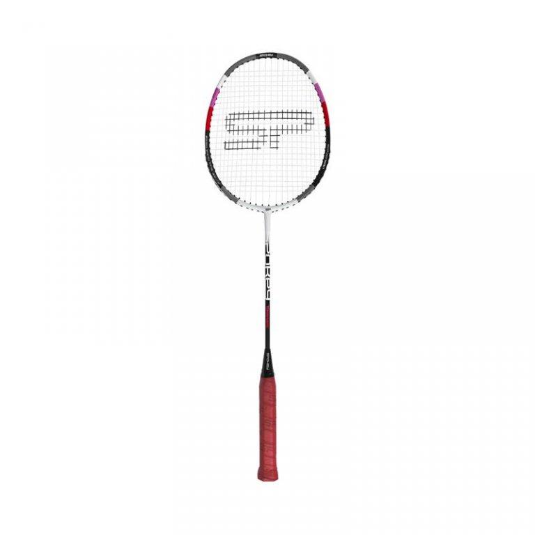 pálka badminton TOMAHAWK II červená