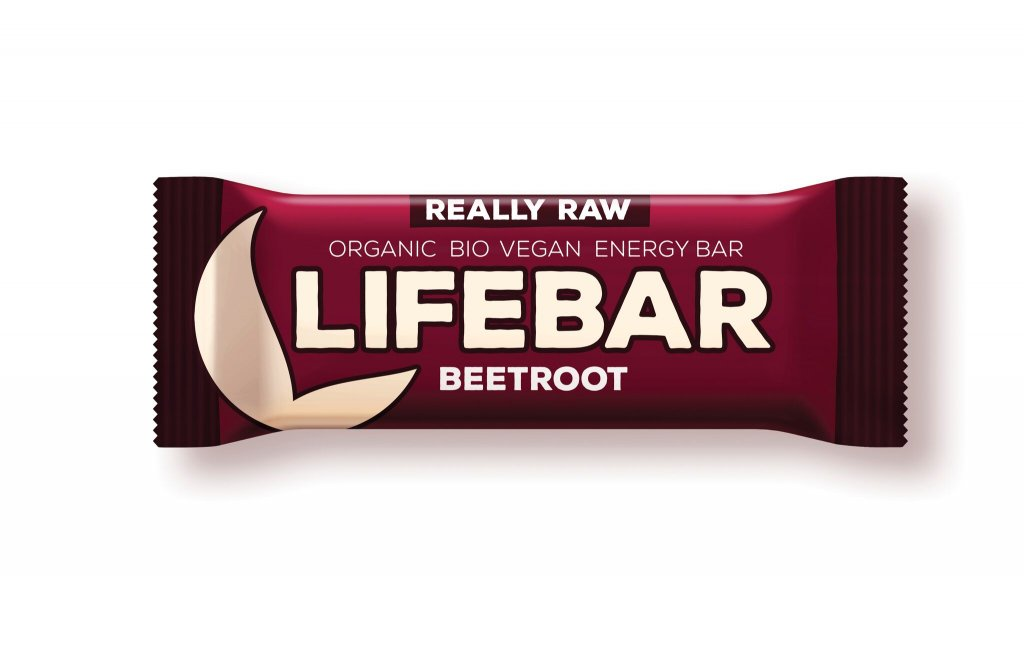 tyčinka Lifefood Lifebar Bio Raw červená řepa