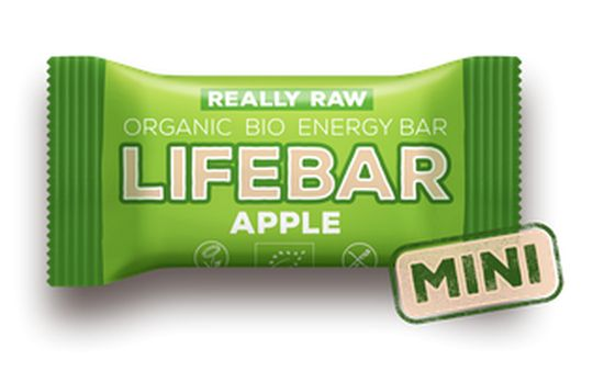 tyčinka Lifefood Lifebar Mini Bio Raw jablečná