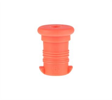 zátka na lahev R&B neon oranžová