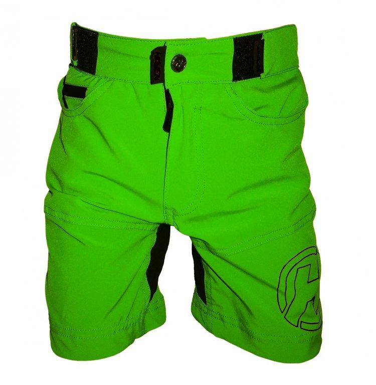 kalhoty krátké dětské HAVEN TeenAge zeleno/černé