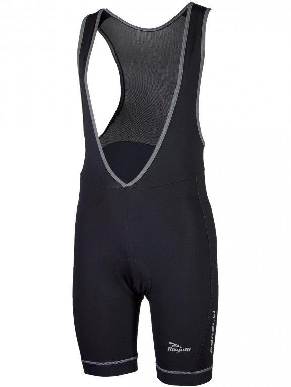kalhoty krátké pánské Rogelli CALORE zateplené černé