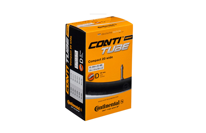 duše Continental Compact 20 wide (50-406/62-451) AV/34mm